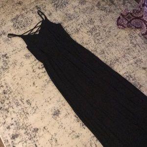 Black maurices maxi dress
